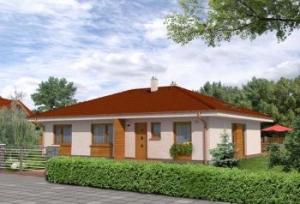 Parametry projektu rodinného domu bungalov 765